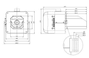 dimensions brûleur M mini 35