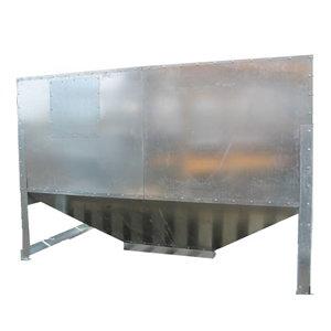 Silo métallique intérieur