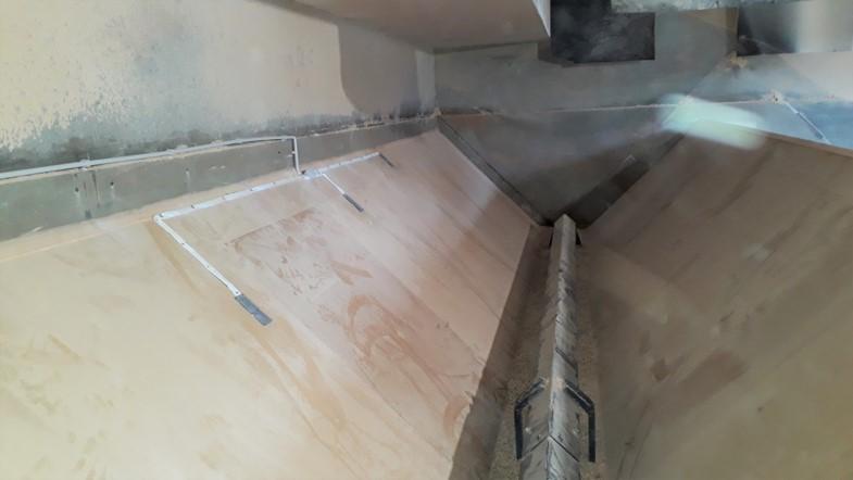 capteur de niveau silo rectanguolaire