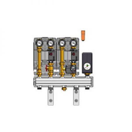 kit  DN 20 collecteur module mélange module direct