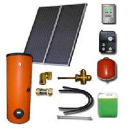 Kit solaire thermique complet 2-3 personnes Ensol