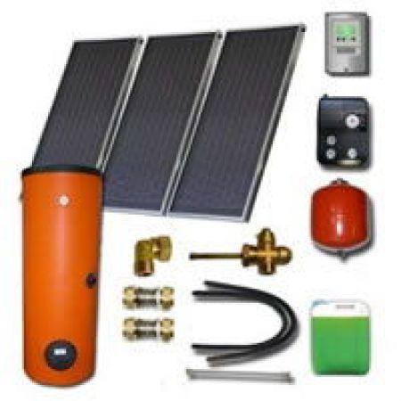 Kit solaire thermique complet 3-5 personnes ensol