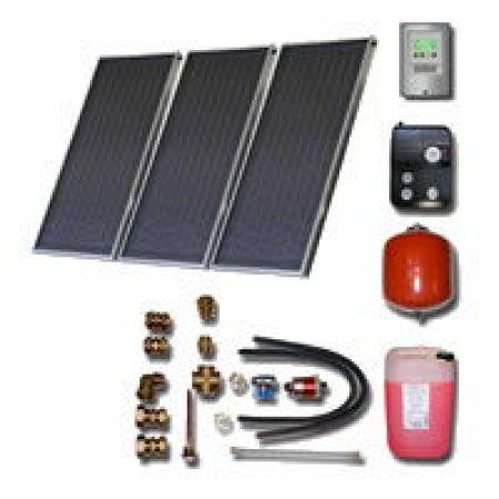 Kit solaire thermique 3-5 personnes ensol