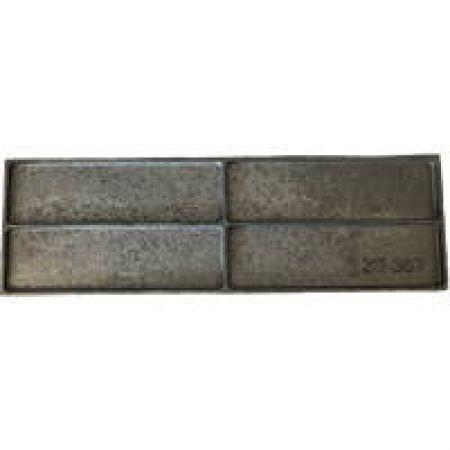 Plaque arrière chambre de combustion pour chaudière Green Eco Therm 5 et 7 éléments