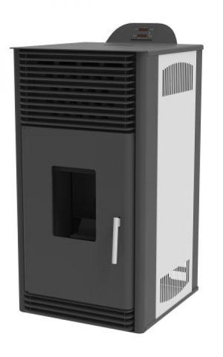 Poêle à granulés Mareli Systems PSN 6 kW Blanc