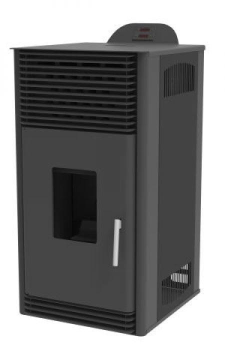 Poêle à granulés Mareli Systems PSN 6 kW Noir