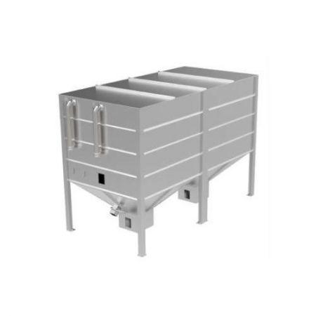 silo à pellets pour l'extérieur wood pellet storage