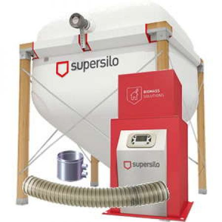 Silo textile Supersilo ECO200P avec extraction par aspiration VACUPELLET