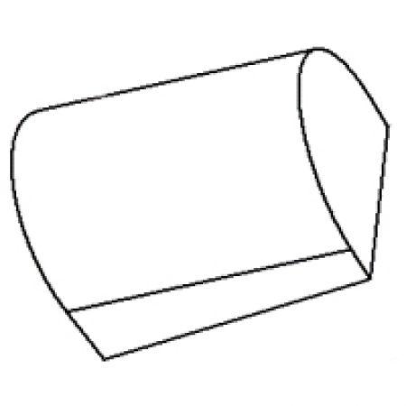 Voûte céramique 9651 du foyer chaudière Viadrus Hercules ECO 10